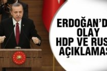 Erdoğan'dan flaş açıklamalar!