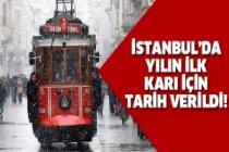 İstanbul'da kar bu tarihte yağacak!