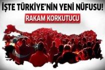 Türkiye'nin yeni nüfusu belirlendi!