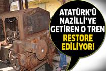 Gıdı Gıdı Treni'nin restorasyonu başladı!