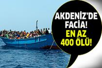 Akdeniz'de göçmen faciası..