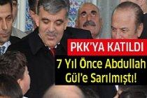 7 Yıl önce Abdullah Gül'e sarılmıştı! PKK'ya katıldı...