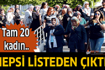 Antalya'da tam 20 kadın gözaltına alındı