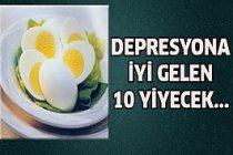 Depresyona İyi Gelecek 10 Yiyecek...