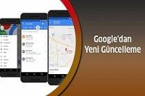 Google Haritalar ve Takvim Biraraya Geldi..