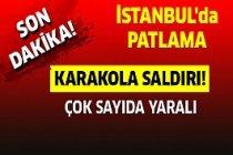 Son Dakika : İSTANBUL'da Patlama Karakola Saldırı!
