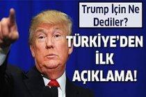 ABD Başkanlık seçimlerinde Türkiye'den ilk yorumlar