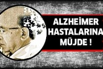 Alzheimer hastalarına müjde