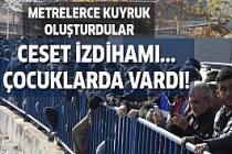 İzmir'de ceset kuyruğu!
