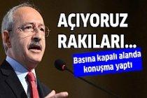 Kılıçdaroğlu basına kapalı alanda konuştu!