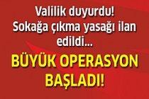 Köylerde sokağa çıkma yasağı ilan edildi!