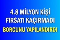 Maliye Bakanı :  Milyon Kişinin Borcu Yapılandırıldı