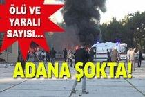 Son Dakika Adana Valiliği önünde patlama!