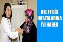 Bel fıtığı hastanın kanıyla tedavi edilecek