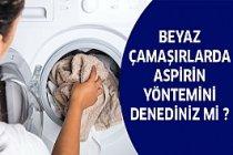 Beyaz Çamaşırlar İçin Bu Yöntem Birebir