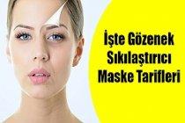 Gözenek Sıkılaştırıcı Maske Tarifleri