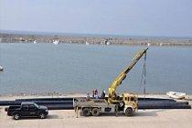 Alaplı Derin Deniz Deşarj Sistemi inşaatı başladı