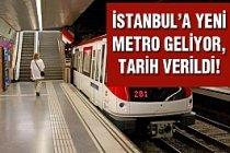 Dudullu-Bostancı metro hattı için tarih verildi