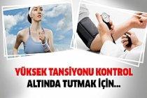 Egzersizle Yüksek Tansiyonu Kontrol Altında Tutabilirsiniz...