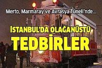 İstanbul trafiği durma noktasına geldi!
