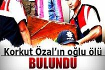 Korkut Özal'ın oğlu havuzda boğuldu