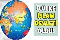 """Gambiya """"İslam devleti"""" olduğunu ilan etti!"""