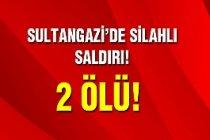 Sultangazi'de silahlı kavga: 2 ölü