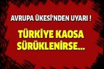 Türkiye'ye İtalya'dan Uyarı !