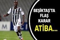 Beşiktaş'tan Atiba Hutchinson kararı.