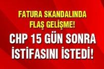 CHP'li O İsime İstifa Baskısı