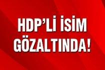 HDP'li İsim Gözaltına Alındı!