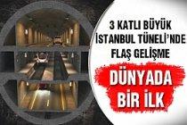 İstanbul Tüneli İçin 4 Firmadan Teklif...