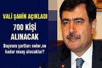 İstanbul Valisi açıkladı! 700 kişi alınacak