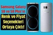Samsung Galaxy S8'in Fiyat ve Renk Seçenekleri Ortaya Çıktı!