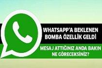 WhatsApp'a Bomba Özellik Kullanıma Sunuldu!