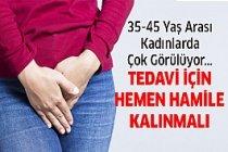 35-45 Yaş arası kadınlarda çok sık...
