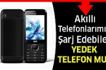 Akıllı Telefonları Şarj Edecek Yedek Telefon...