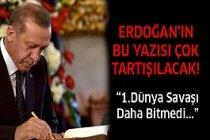Erdoğan'dan Şok İddia!