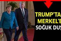 Merkel'e Trump'tan Türkiye Dersi!