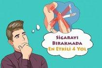 Sigarayı Bırakmada En Etkili 4 Yol