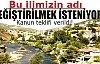 Aygün: Tunceli'nin adı Dersim olarak değişsin