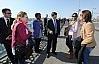 Forum öncesi Galata Köprüsünde yürüş