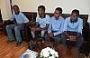 Somalili öğrenciler Başkan Posbıyık'ı ziyaret etti
