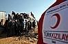 Türk Kızılayı'ndan tonlarca yardım