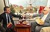 Yaşar Kemal'e ziyaret