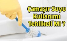 Temizlikte Çamaşır Suyu Kullanmak Tehlikeli Mi ?