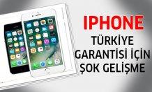 iPhone Türkiye garantisi için flaş gelişme!