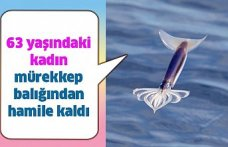 63 yaşındaki kadın mürekkep balığından hamile kaldı