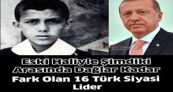 Gençlik Fotoğraflarıyla Siyasi Liderler