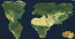Bu dünya haritasında Türkiye yok